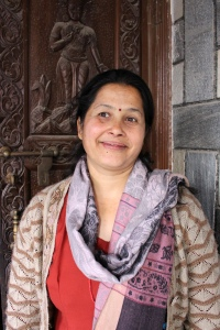 Kumud Sharma, an inspiring volunteer and a mother of two